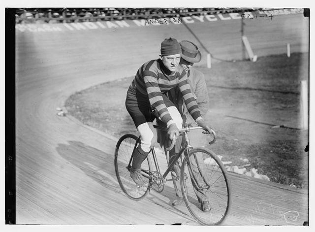 Cyclist Anderson