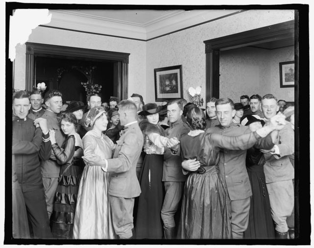 Dancing at a Service Club, World War I