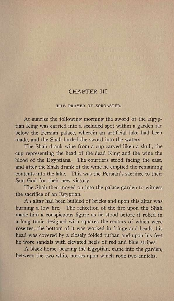 Desra of the Egyptians : a romance of earlier centuries