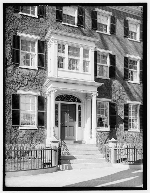 Doorway, 26 Chestnut St., Salem, Mass.