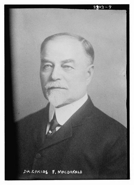Dr. Carlos F. MacDonald