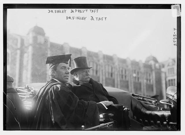 Dr. Finley & Pres. Taft