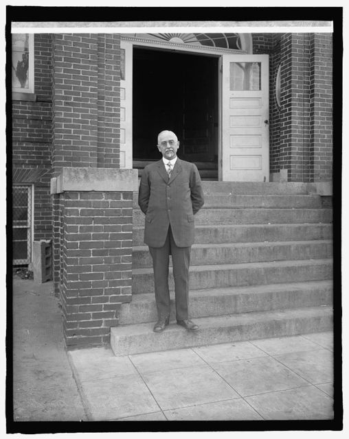 Dr. Geo. E. Lewis, Sup. of Schools, Montgomery County, Md.