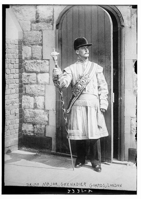 Drum Major, Grenadier Guards, London