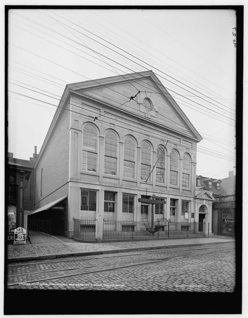 East India Marine Hall and Peabody Museum, Salem, Mass.
