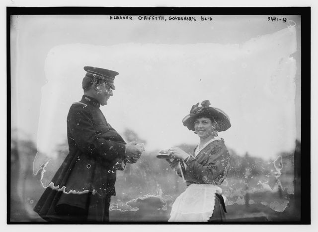 Eleanor Griffith, Governor's Isl'd [i.e., Island]