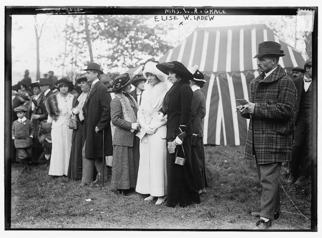 Elise W. Ladew and Mrs. W.R. Grace