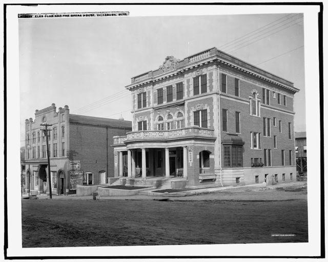 Elks Club and the opera house, Vicksburg, Miss.