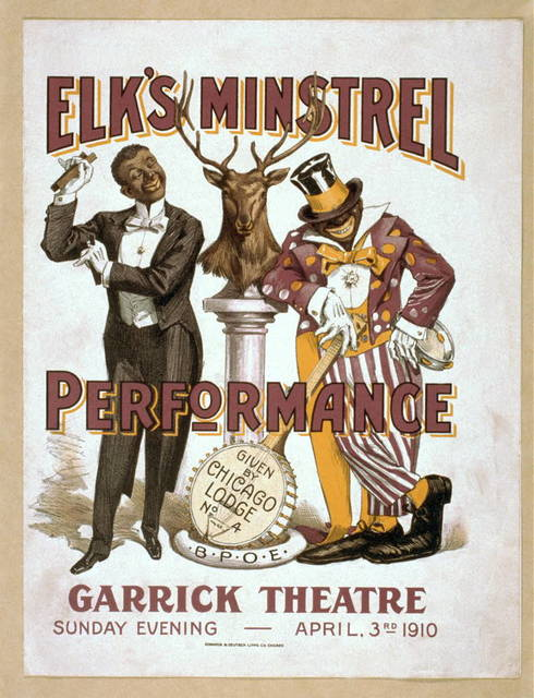 Elk's minstrel performance given by Chicago Lodge No. 4, B.P.O.E.