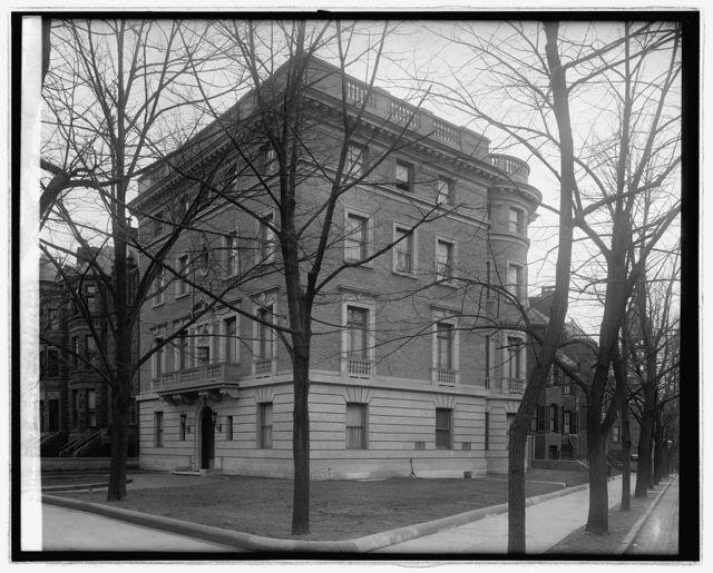 Embassy of Brazil 18[th St.] & Mass. Ave., [Washington, D.C.]