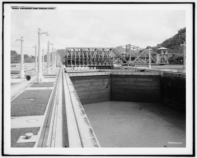 Emergency dam, Panama Canal