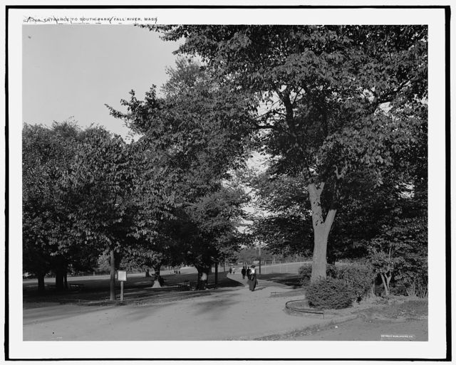 Entrance to South Park, Fall River, Mass.