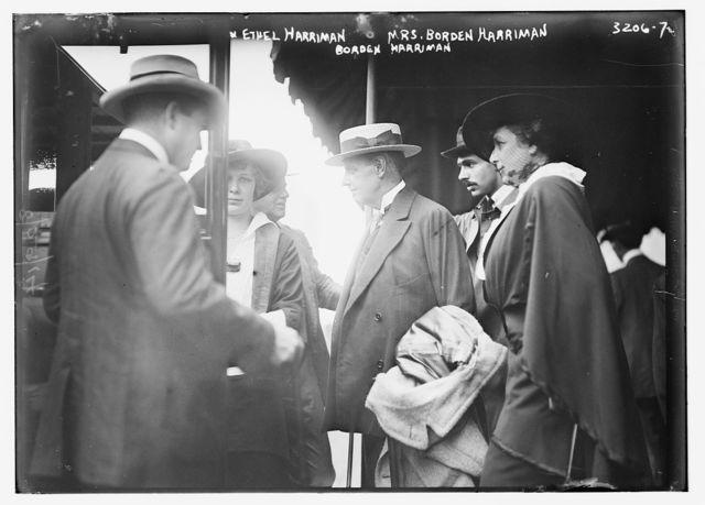 Ethel Harriman, Mrs. Borden Harriman, Borden Harriman