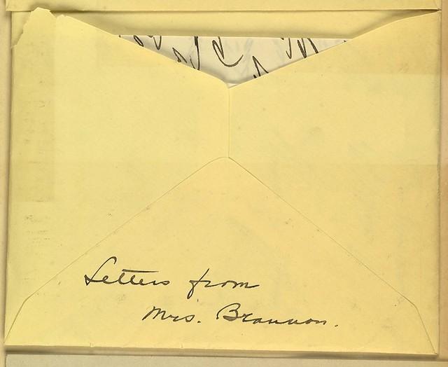 Eunice Dana Brannan to Anne Fitzhugh Miller