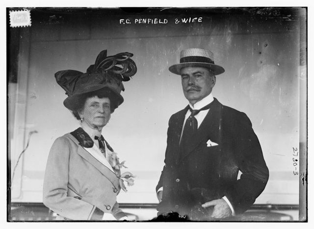 F.C. Penfield & wife