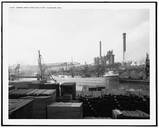 Federal Wire & Steel Co.'s plant, Cleveland, Ohio