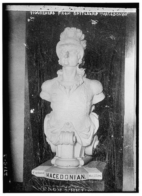 Figurehead,  Battleship MACEDONIA