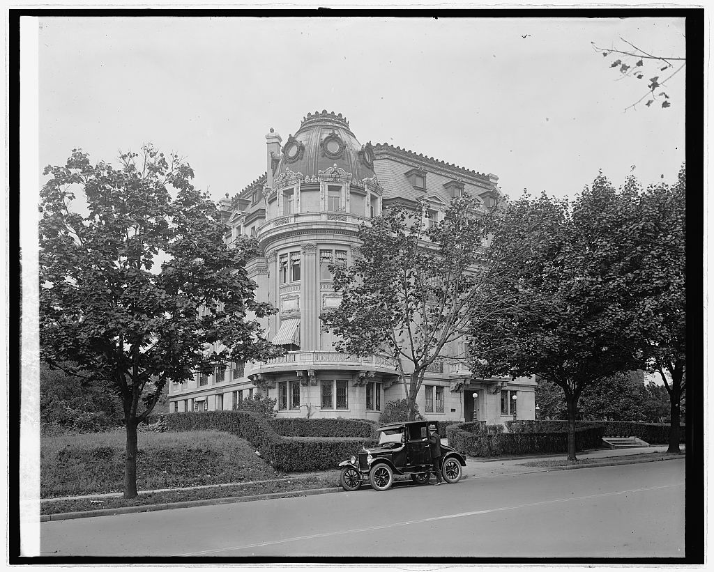 Ford Motor Co. Ford at French Embassy, [Washington, D.C.]