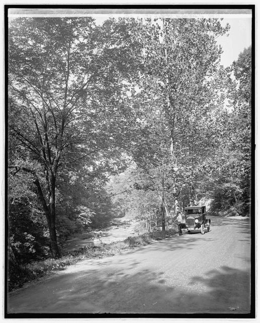 Ford Motor Co. Ford touring car in Rock Creek Pk., [Washington, D.C.]