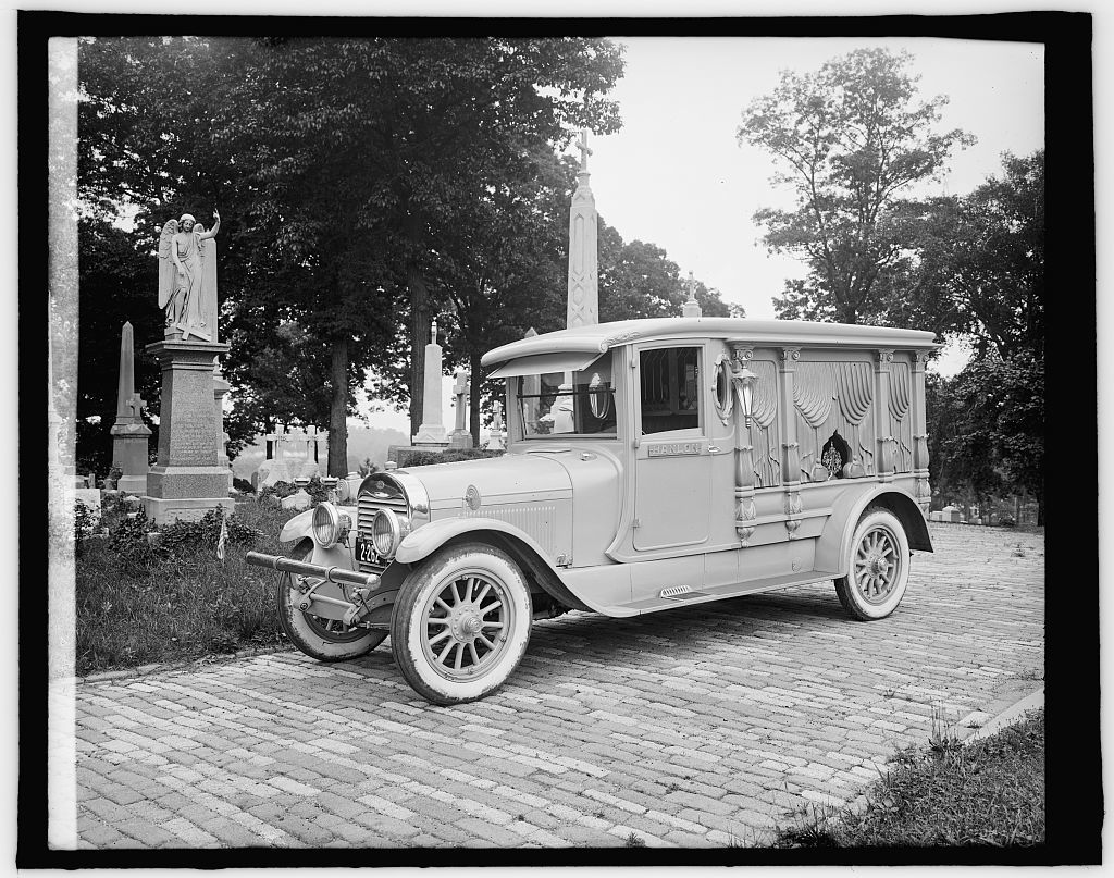Ford Motor Co. Hanlon Lincoln hearse