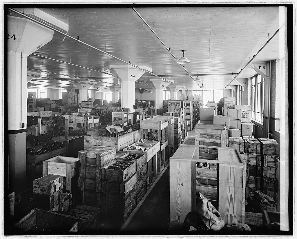 Ford Motor Co. interior