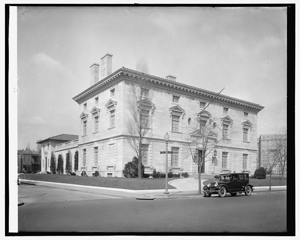 Ford Motor Co. Italian Embassy, [16th and Fuller Sts., N.W., Washington, D.C.]