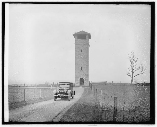 Ford Motor Co., Lincoln at Antietam Battle field, [Maryland]