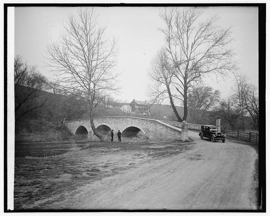 Ford Motor Co., Lincoln at Burnside bridge [near Antietam, Maryland]