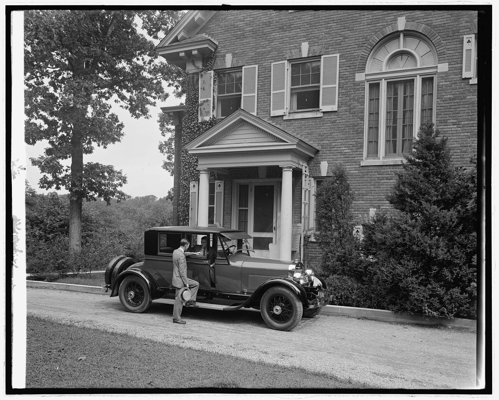 Ford Motor Co. Lincoln at private residence