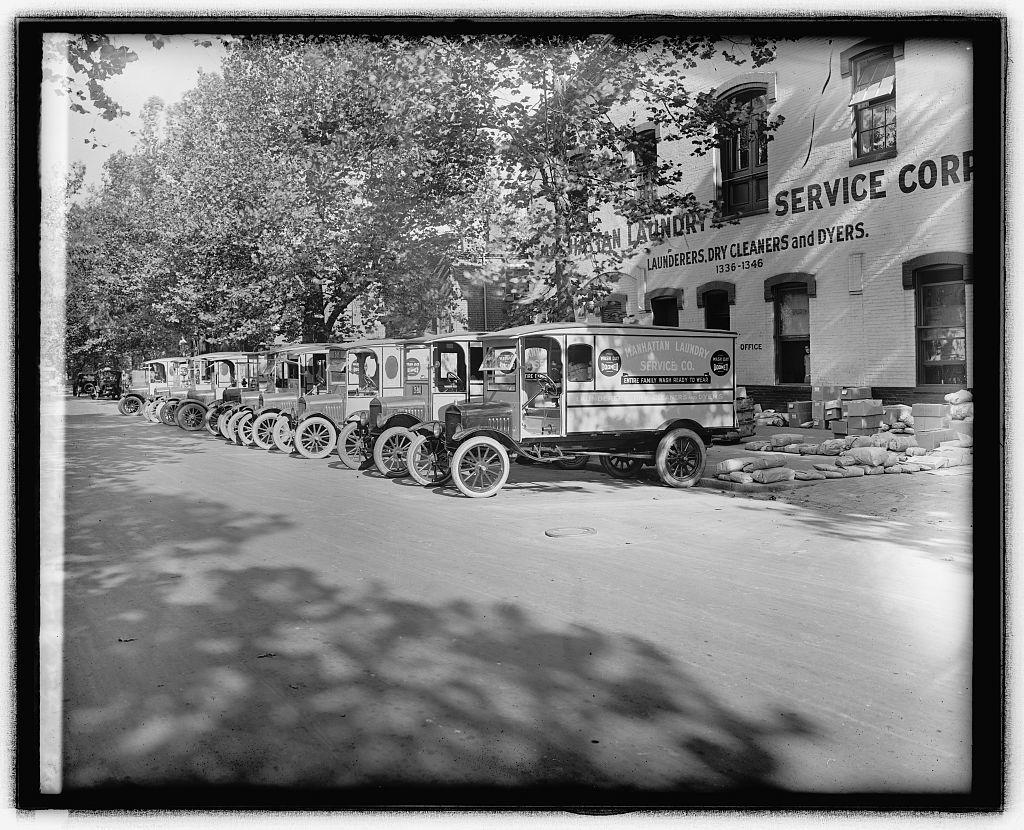 Ford Motor Co., Manhattan Ldy.[Laundry] trucks