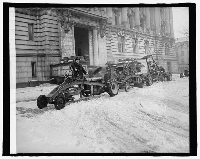 Ford Motor Co. snow plows