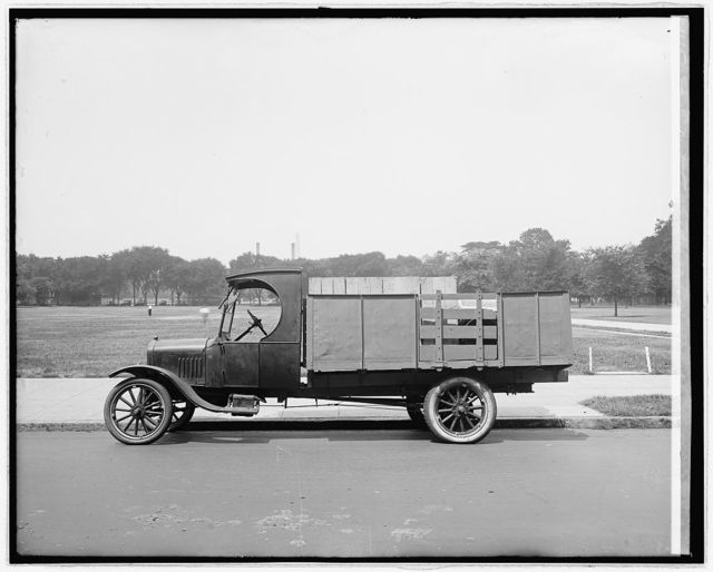Ford Motor Co., special body truck