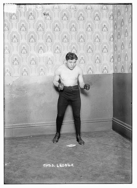 """[French boxer Charles """"Little Apache"""" Ledoux]"""