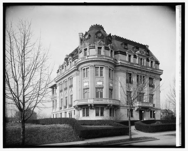 French Embassy, 2400 16th St., [Washington, D.C.]
