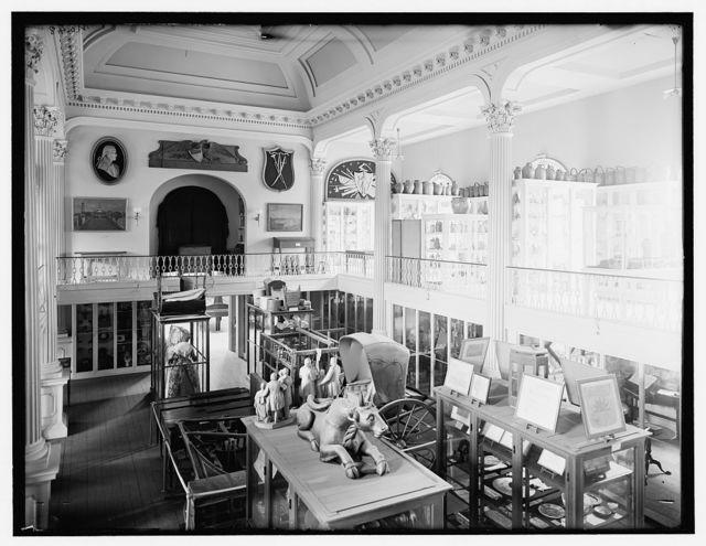 [Gallery, Essex Institute, Salem, Mass.]