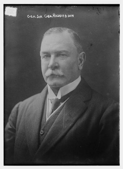 Gen. Sir Geo. Richardson