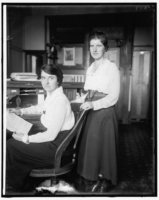 Genevieve Chapin & Sue Court