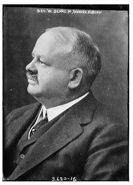 Geo. W. Benhem, Warden, Auburn