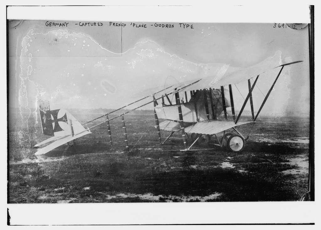 German -- captured French Plane -- Godron type