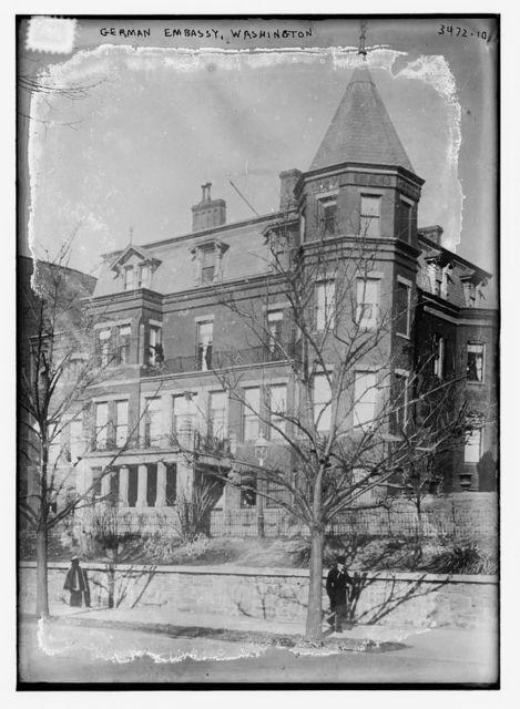 German Embassy, Wash., D.C.