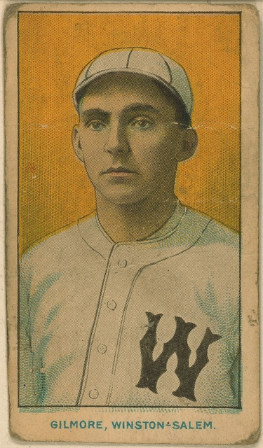 [Gilmore, Winston-Salem Team, baseball card portrait]