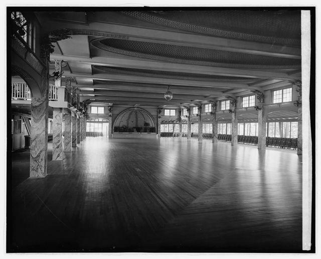 Glen Echo, [Maryland], ball room