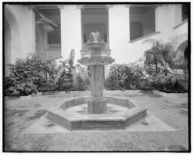 [Gloria Vanderbilt Whitney Fountain, International Bureau of American  Republics (Pan American Union), Washington, D.C.]