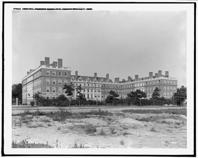 Gore Hall, freshman dormitories, Harvard University, Mass.
