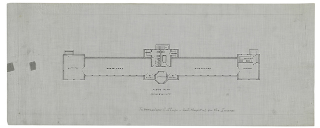 [Government Hospital for the Insane (Saint Elizabeths Hospital), Washington, D.C. Tuberculosis cottage. Floor plan]