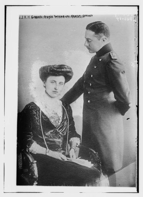 Grand Duke Wilhelm Ernst, Saxony, J.K.H. Grossherzogin Feodora von Sachsen