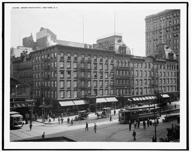 Grand Union Hotel, New York, N.Y.