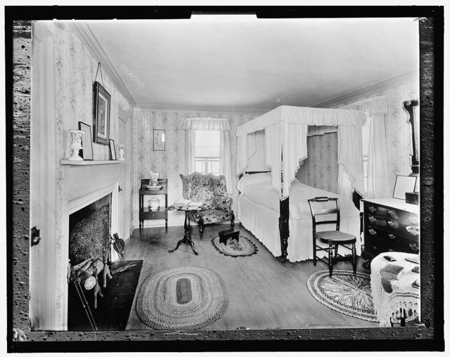 [Grandfather Nutter's Room, Thomas Bailey Aldrich Memorial, Portsmouth, N.H.]