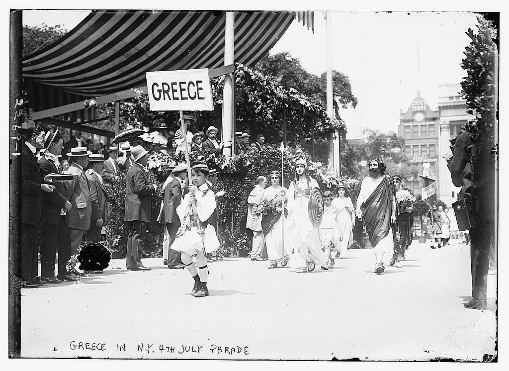 Greece in N.Y. 4th of July Parade