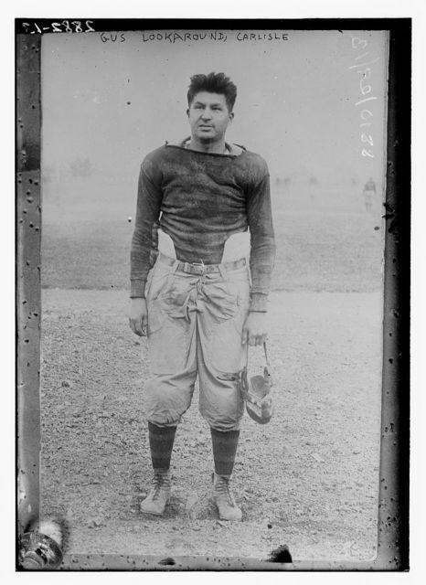 Gus Lookaround -- Carlisle - football